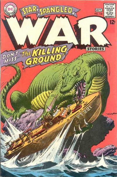Cover for Star Spangled War Stories (DC, 1952 series) #134