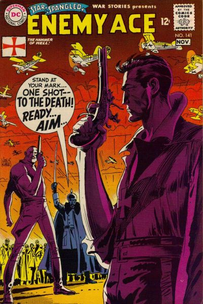 Cover for Star Spangled War Stories (DC, 1952 series) #141