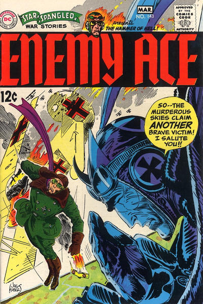 Cover for Star Spangled War Stories (DC, 1952 series) #143