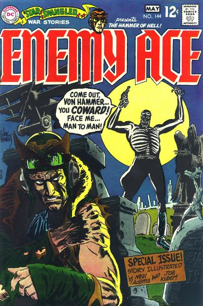 Cover for Star Spangled War Stories (DC, 1952 series) #144