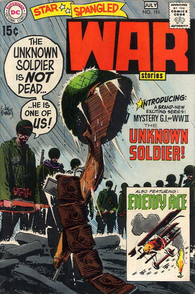 Cover for Star Spangled War Stories (DC, 1952 series) #151