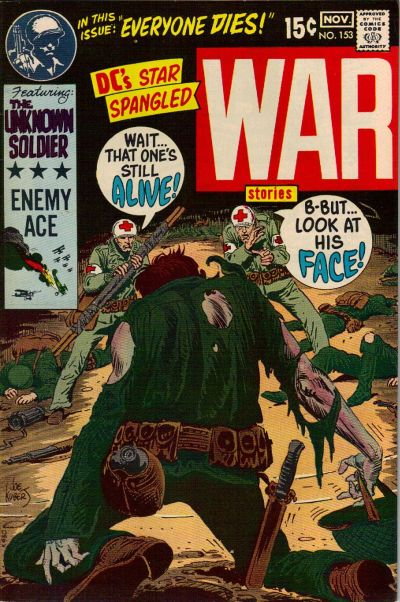 Cover for Star Spangled War Stories (DC, 1952 series) #153