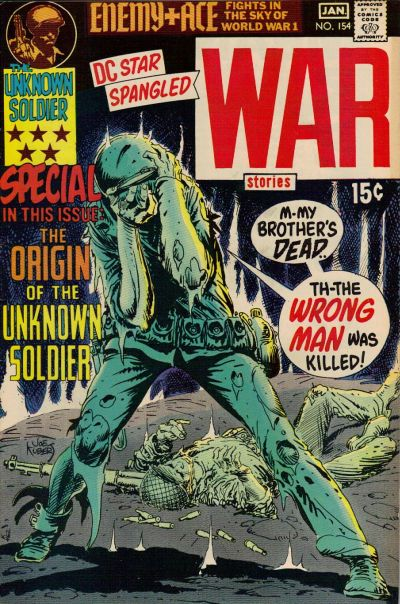 Cover for Star Spangled War Stories (DC, 1952 series) #154
