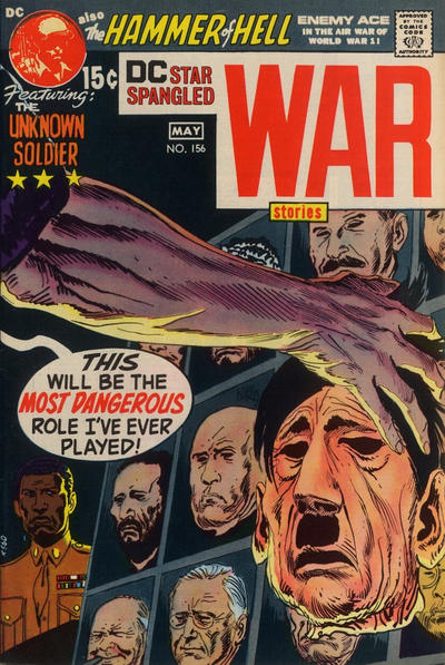 Cover for Star Spangled War Stories (DC, 1952 series) #156