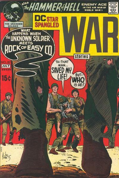 Cover for Star Spangled War Stories (DC, 1952 series) #157
