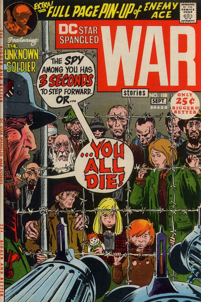 Cover for Star Spangled War Stories (DC, 1952 series) #158