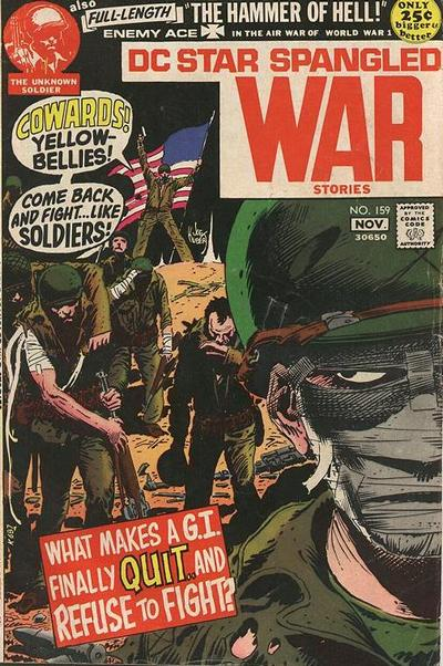 Cover for Star Spangled War Stories (DC, 1952 series) #159