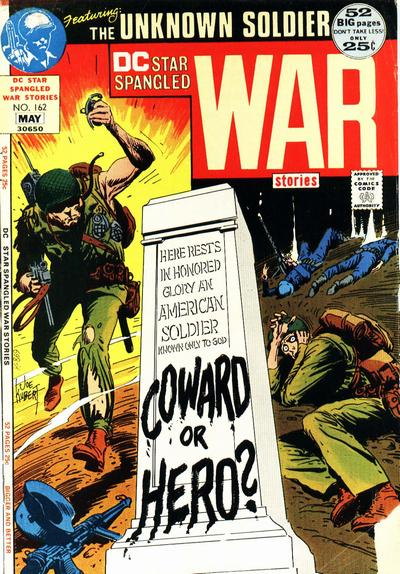 Cover for Star Spangled War Stories (DC, 1952 series) #162