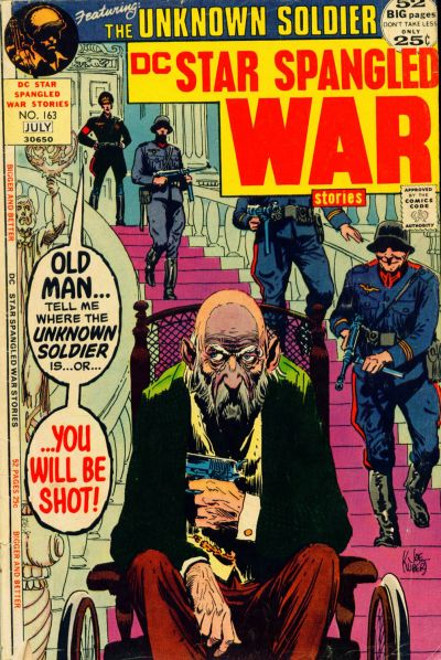 Cover for Star Spangled War Stories (DC, 1952 series) #163