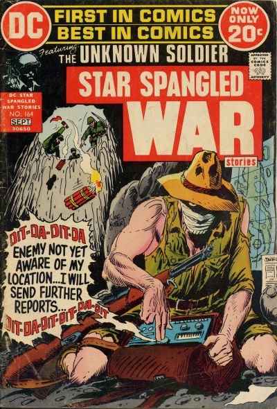 Cover for Star Spangled War Stories (DC, 1952 series) #164