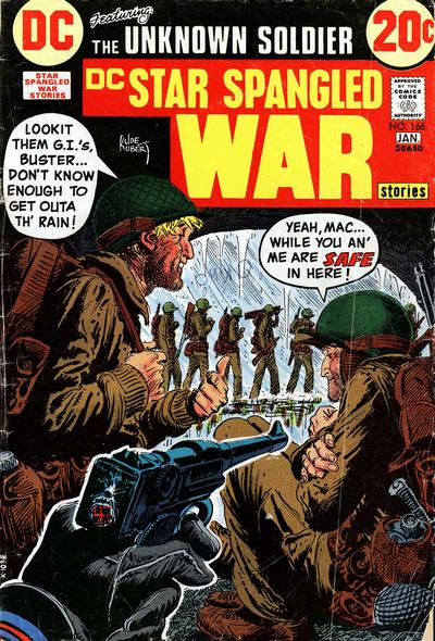 Cover for Star Spangled War Stories (DC, 1952 series) #166