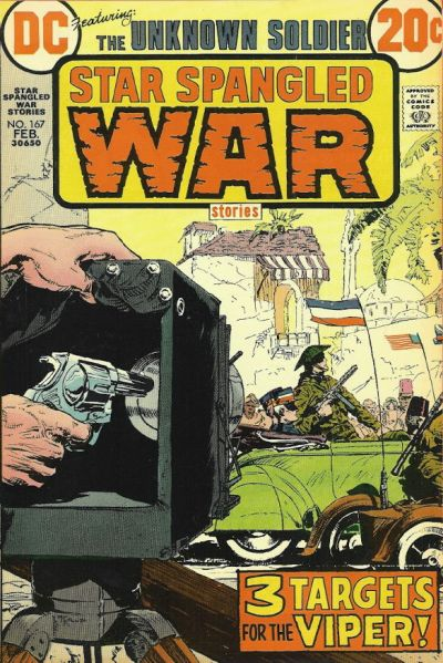 Cover for Star Spangled War Stories (DC, 1952 series) #167