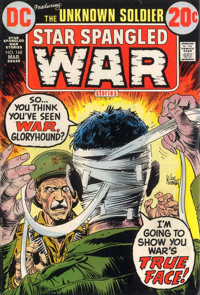 Cover for Star Spangled War Stories (DC, 1952 series) #168