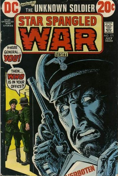Cover for Star Spangled War Stories (DC, 1952 series) #171