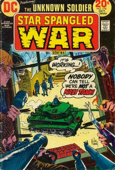 Cover for Star Spangled War Stories (DC, 1952 series) #174