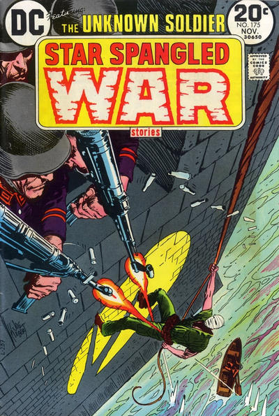 Cover for Star Spangled War Stories (DC, 1952 series) #175