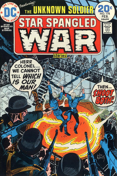 Cover for Star Spangled War Stories (DC, 1952 series) #178