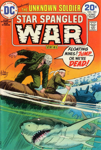 Cover for Star Spangled War Stories (DC, 1952 series) #180