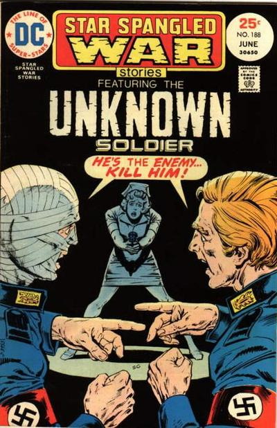 Cover for Star Spangled War Stories (DC, 1952 series) #188