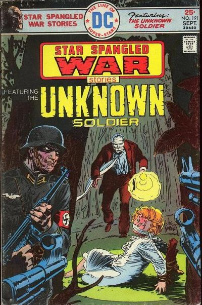 Cover for Star Spangled War Stories (DC, 1952 series) #191
