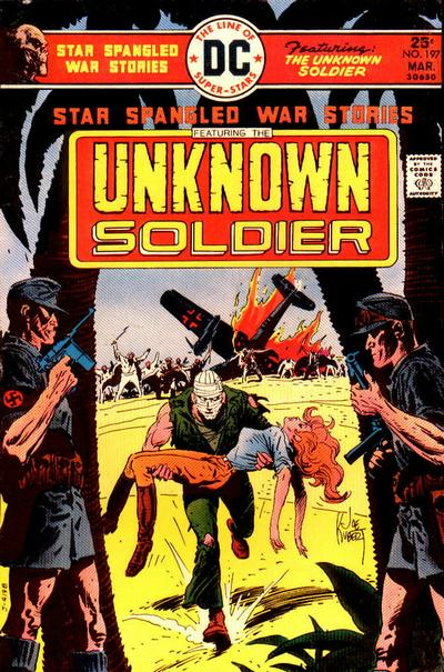 Cover for Star Spangled War Stories (DC, 1952 series) #197