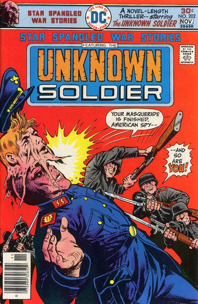 Cover for Star Spangled War Stories (DC, 1952 series) #202