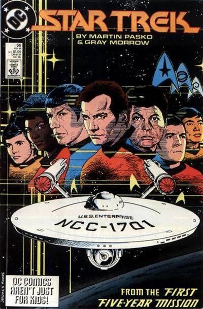 Cover for Star Trek (DC, 1984 series) #56 [Direct]