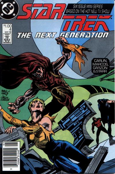 Cover for Star Trek: The Next Generation (DC, 1988 series) #4 [Canadian Newsstand]