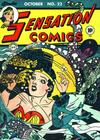 Cover for Sensation Comics (DC, 1942 series) #22