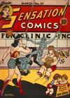 Cover for Sensation Comics (DC, 1942 series) #27