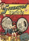 Cover for Sensation Comics (DC, 1942 series) #34