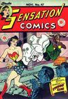 Cover for Sensation Comics (DC, 1942 series) #47