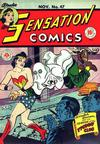 Cover for Sensation Comics (DC, 1942 series) #47