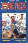 Cover for One Piece (Bonnier Carlsen, 2003 series) #1 - Äventyret börjar