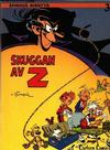 Cover Thumbnail for Spirous äventyr (1974 series) #3 - Skuggan av Z [2:a upplagan, 1984]