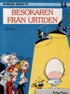 Cover for Spirous äventyr (Carlsen/if [SE], 1974 series) #14 - Besökaren från urtiden [2:a upplagan, 1986]
