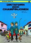 Cover Thumbnail for Spirous äventyr (1974 series) #9 - Diktatorn och champinjonen [3:e upplagan, 1988]