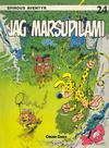 Cover for Spirous äventyr (Carlsen/if [SE], 1974 series) #24 - Jag Marsupilami [2:a upplagan, 1989]