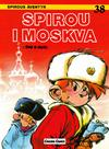 Cover for Spirous äventyr (Carlsen/if [SE], 1974 series) #38 - Spirou i Moskva