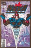 Cover for Nova (Marvel, 1994 series) #1 [Gold Foil Edition]