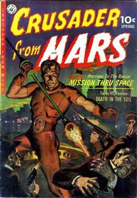 Cover Thumbnail for Crusader from Mars (Ziff-Davis, 1952 series) #1