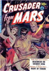 Cover Thumbnail for Crusader from Mars (Ziff-Davis, 1952 series) #2