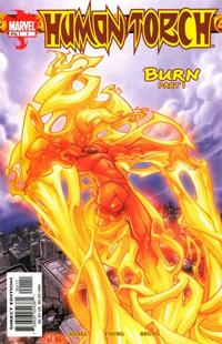 Cover Thumbnail for Human Torch (Marvel, 2003 series) #1