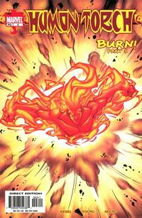 Cover Thumbnail for Human Torch (Marvel, 2003 series) #3