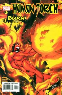 Cover Thumbnail for Human Torch (Marvel, 2003 series) #4