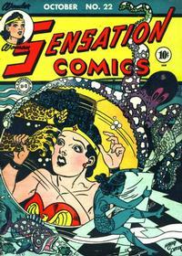 Cover Thumbnail for Sensation Comics (DC, 1942 series) #22