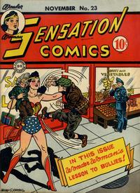 Cover Thumbnail for Sensation Comics (DC, 1942 series) #23
