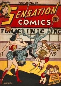 Cover Thumbnail for Sensation Comics (DC, 1942 series) #27