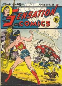 Cover Thumbnail for Sensation Comics (DC, 1942 series) #28