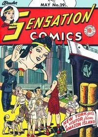 Cover Thumbnail for Sensation Comics (DC, 1942 series) #29